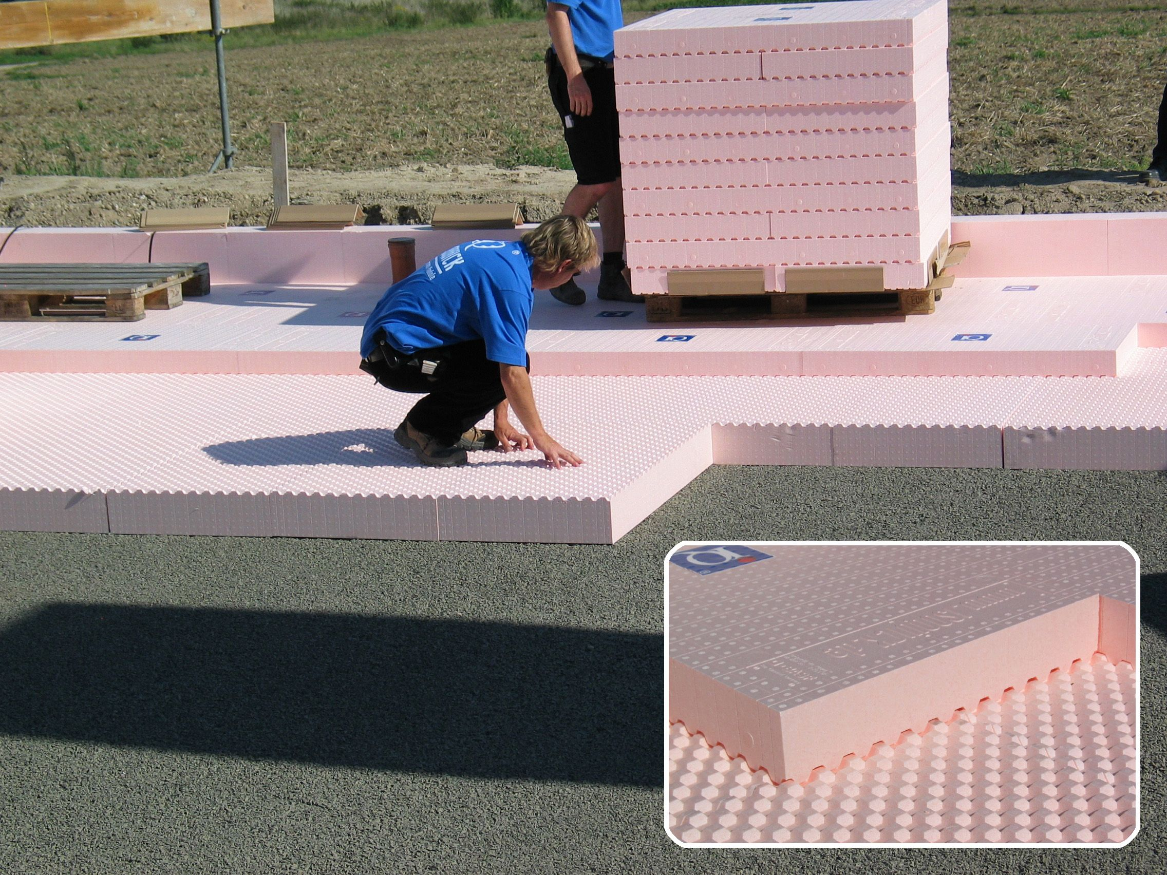 Marvelous Prefabricated Modules Made Of BASF Foam For Thermal Insulation Of The Floor  Slab