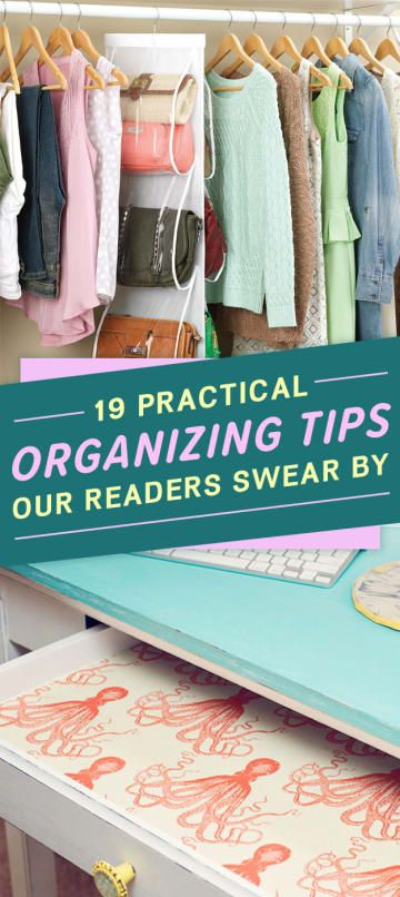 19 Smart And Practical Organizing Tips Our Readers Actually Swear By