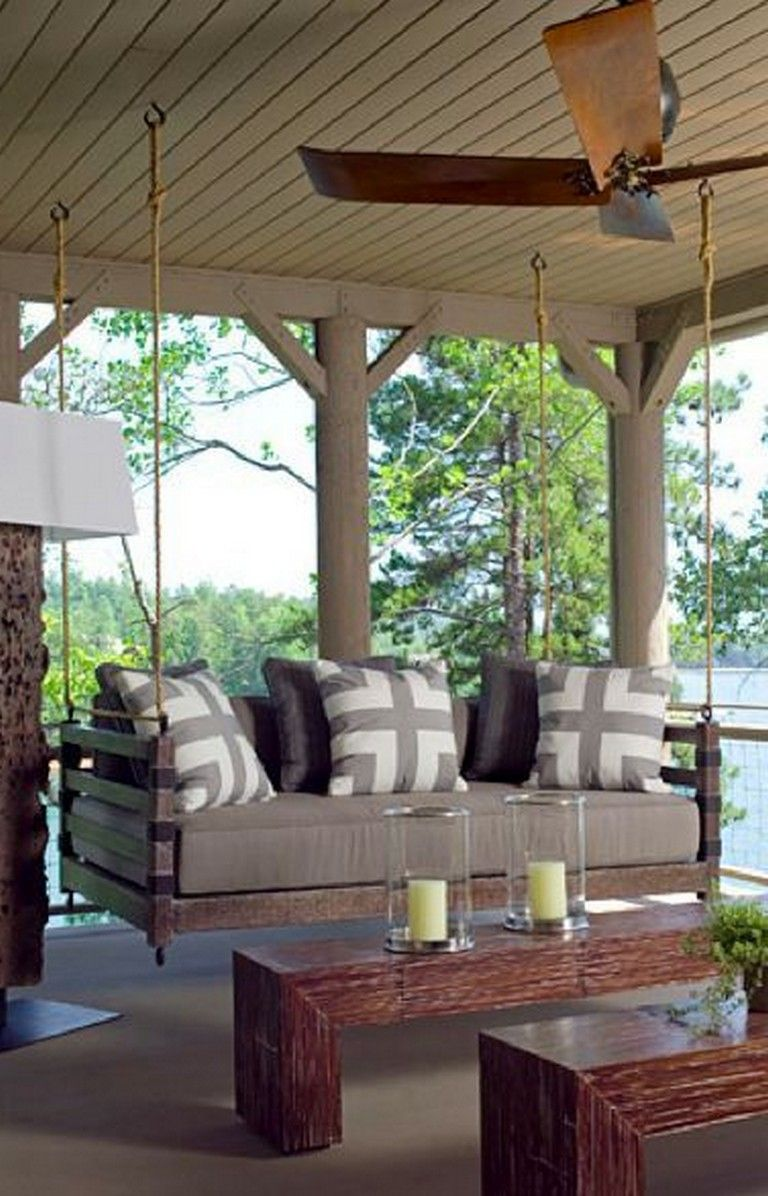 48 marvelous cozy patio design ideas patio inspiration on porch swing ideas inspiration id=19359