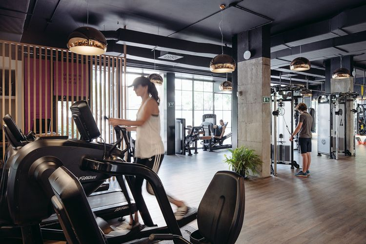 Club xii boutique gym in madrid by i! arquitectura core 57 gym