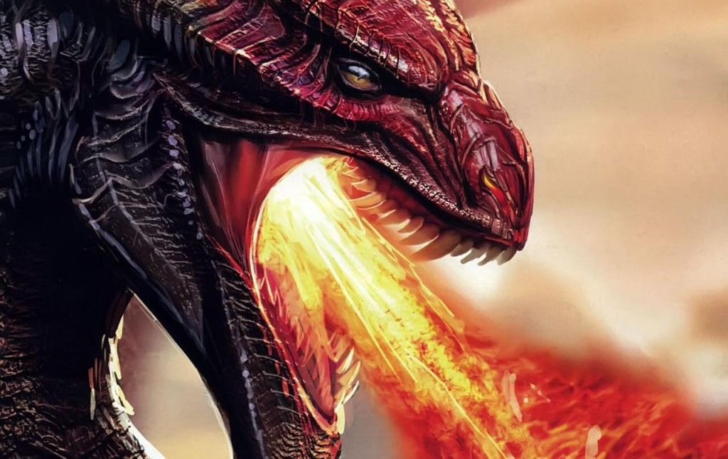 Fire Breathing Dragons Wallpaper Dragon With Fire Breath