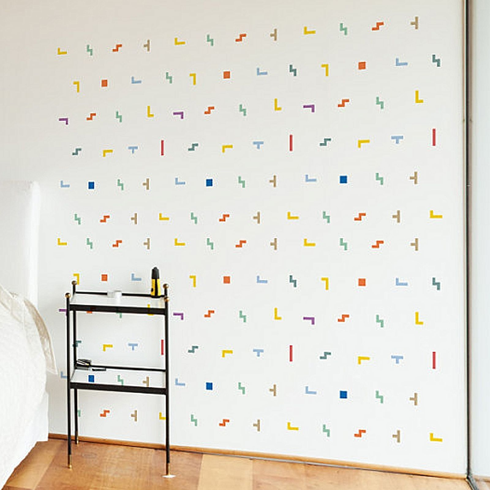 Little Studio 8 Bit Blocks Wall Decal Set Of 140 By Little Sticker