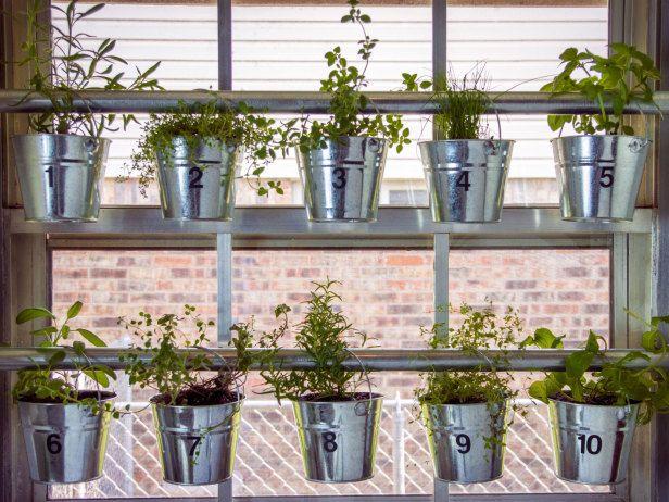 Ordinaire Kitchen Bay Window Herb Garden   Do It Yourself Window Mounted Hanging Herb  Garden : HGTV Gardens