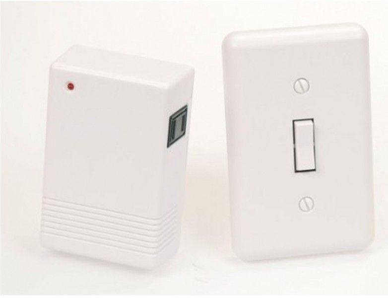 Put A Light Switch Wherever You Want In A Rental Apt Wireless