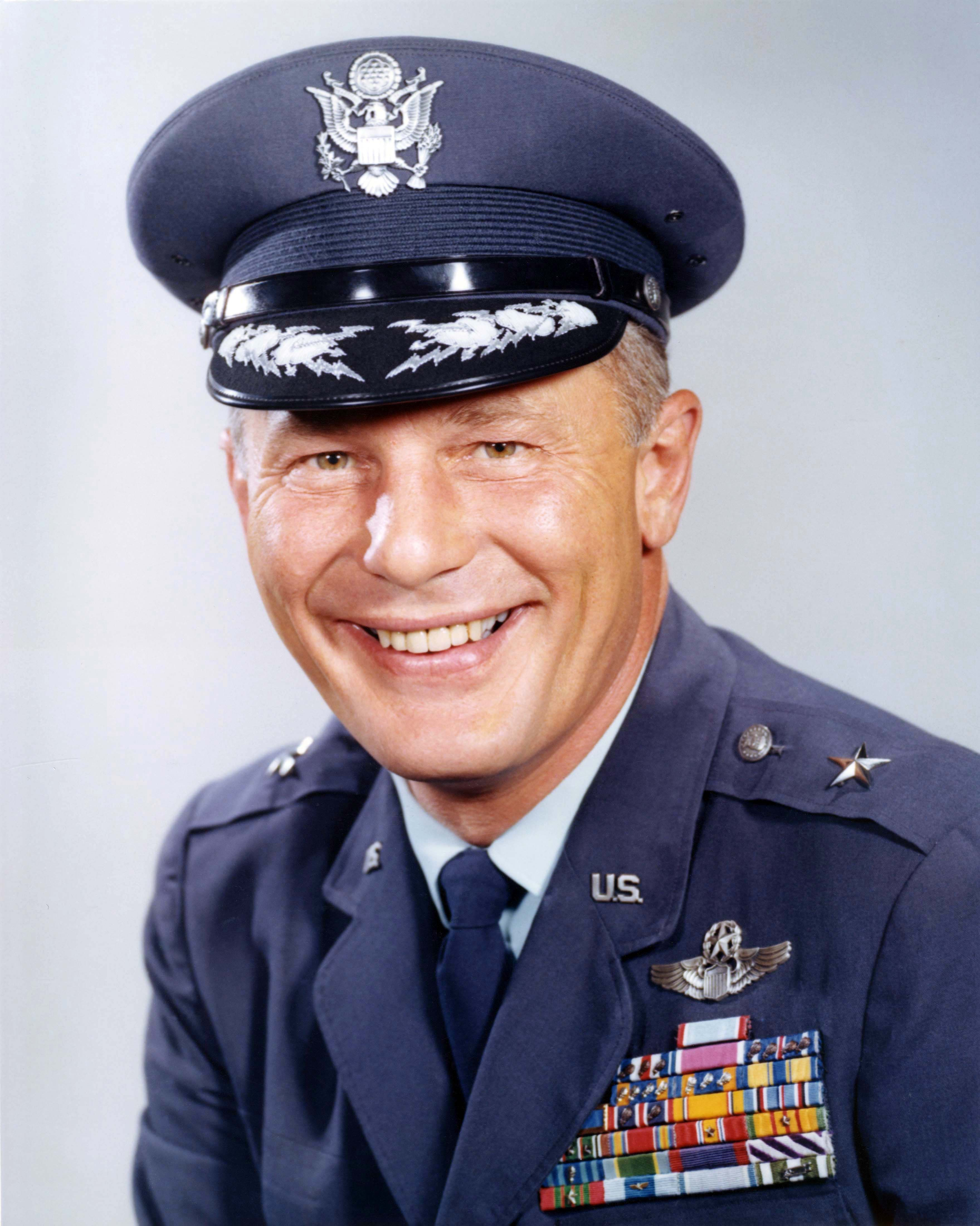 Olds, Robin, Brigadier General, United States Air Force