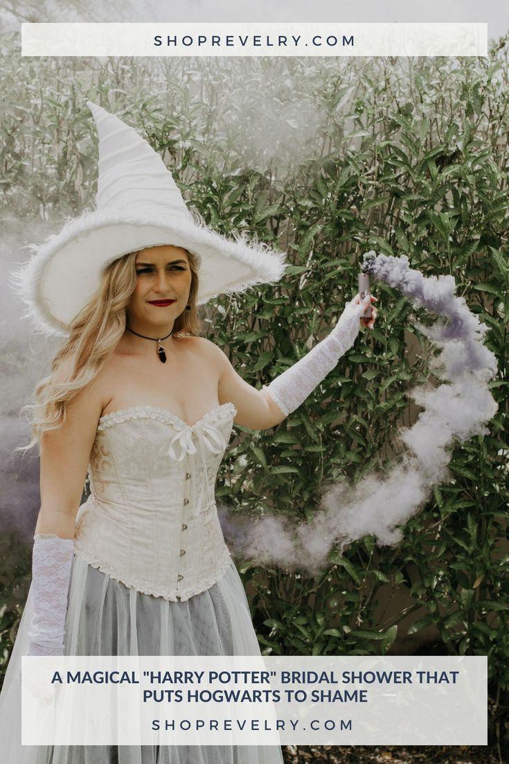 Harry potter wedding dress  A Magical