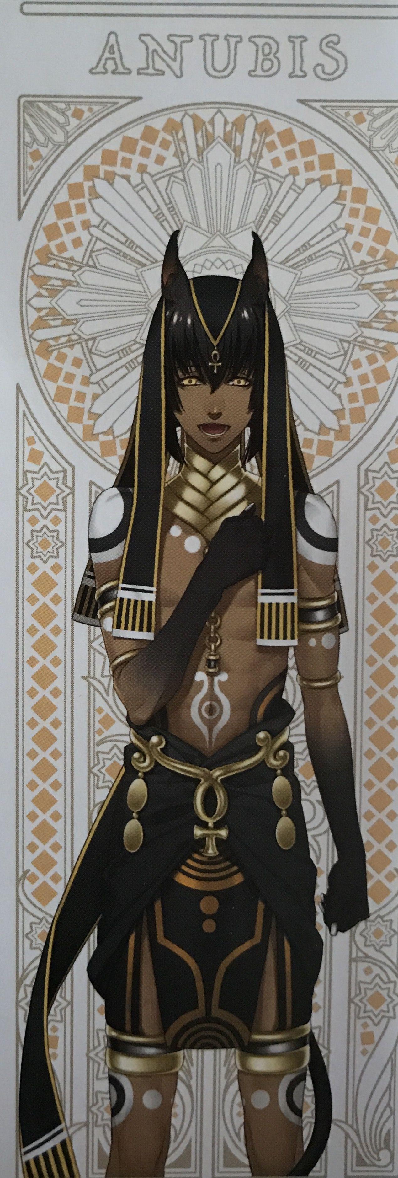 Anubis Anime Egyptian Anime Guys Anubis