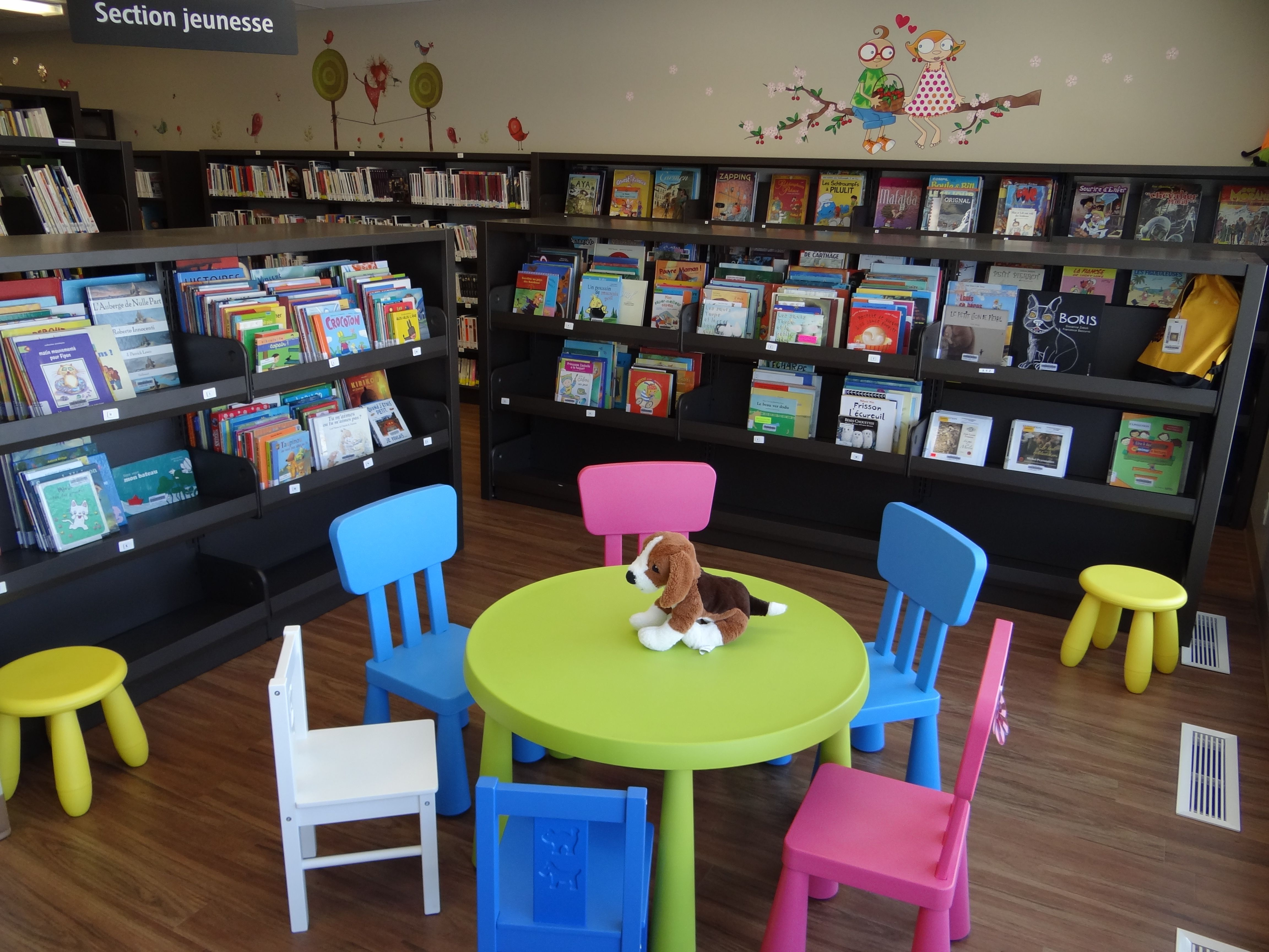 am nagement espace jeunesse biblioth que municipale de. Black Bedroom Furniture Sets. Home Design Ideas