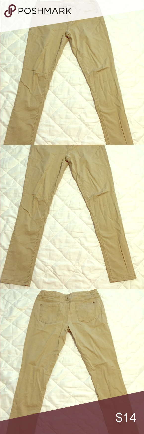 Target Khaki Pants Target skinny khakis pants perfect for casual job. Gently worn. Mossimo Supply Co Pants Skinny