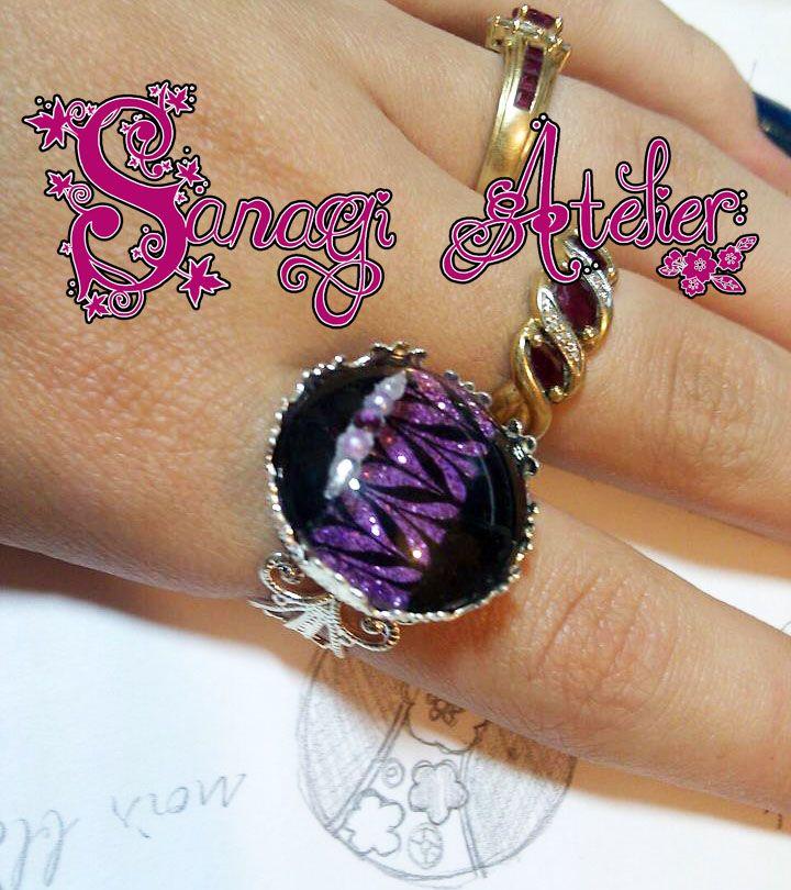 Sanagi Atelier adjustable Ring Art