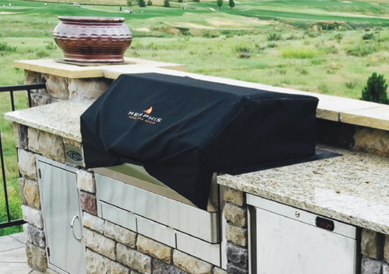 Grill Cover For A Memphis Pro Pellet Grill Built In To A Bbq Island Or Outdoor Kitchen Grill Cover Memphis Pellet Grill Pellet Grill