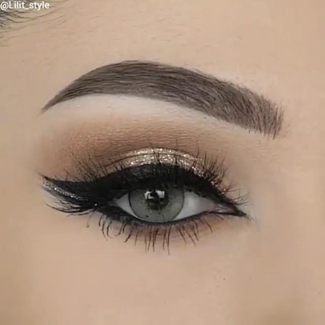 Photo of Hermoso maquillaje de ojos