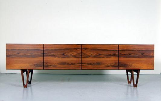 Danish Furniture Retro Art Deco Classic Storage Vampt Vintage Design