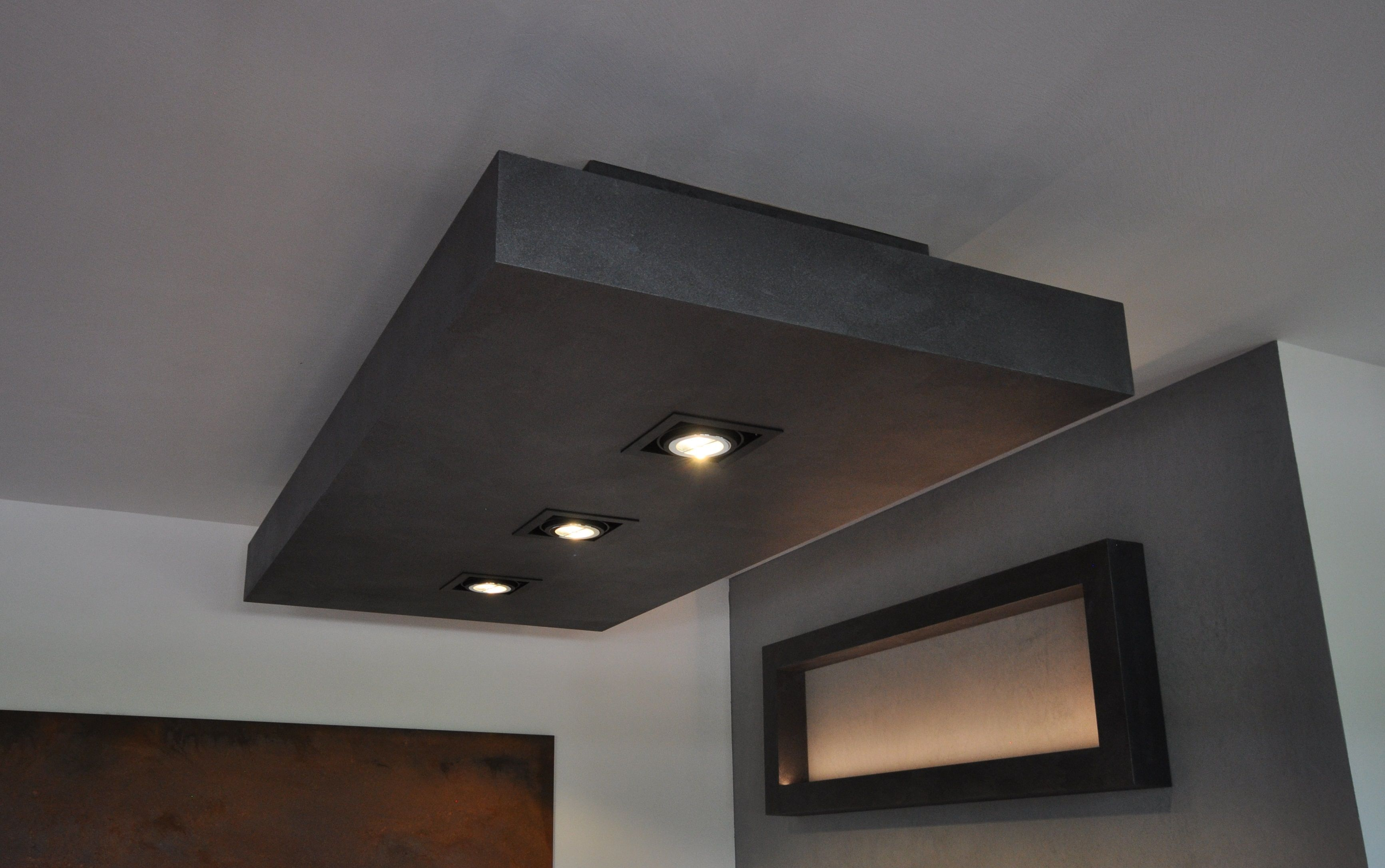 Deckenelement Einbauspots Metalleffekt Designmobel Mobeldesign Individuelle Anfertigung Wohn Design Einbauspots Und Design