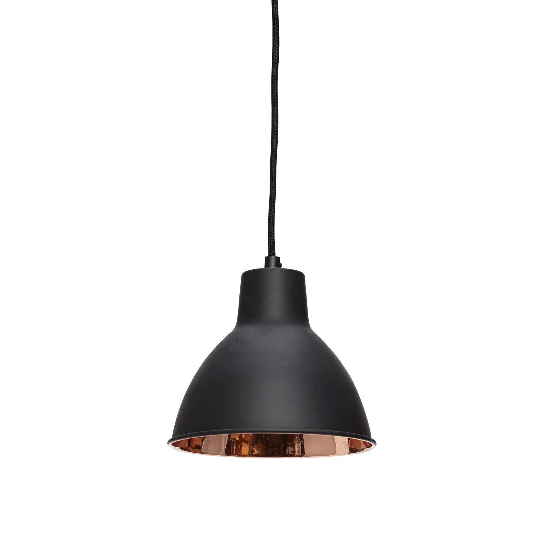 stylische h ngeleuchte aussen matt schwarz innen. Black Bedroom Furniture Sets. Home Design Ideas