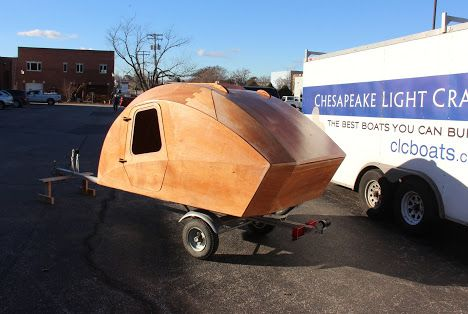 Chesapeake Teardrop Trailer A Camping Pod With Built In Gally Kitchen