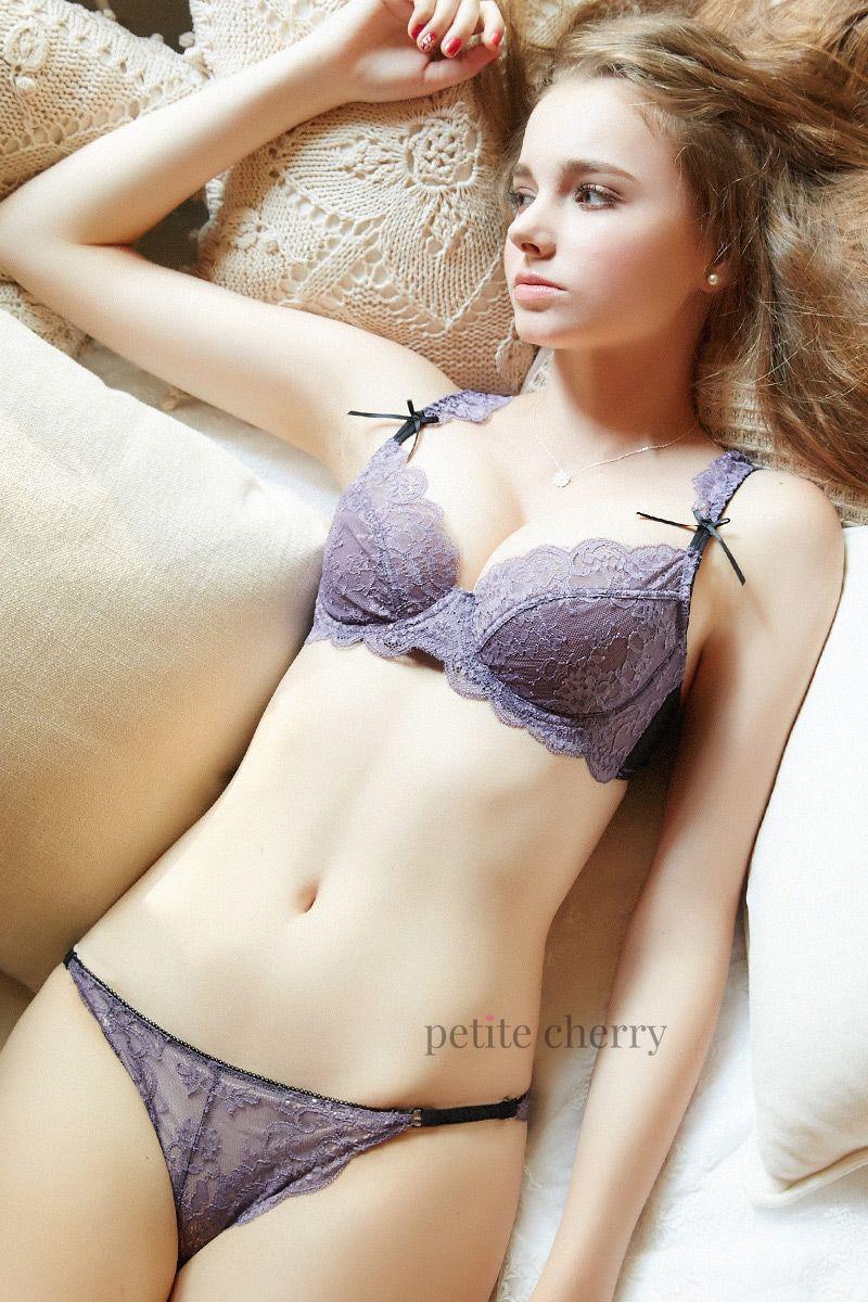 f811641902 Stunning sheer mauve lace bra from Petite Cherry.  lingerie  braset   underwear  undies