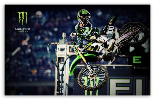 Download Monster Energy Motocross HD Wallpaper Monster