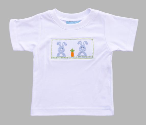 ace2b08b8 Anavini Smocked Bunny T-Shirt - Toddler Boy | Classic Southern ...