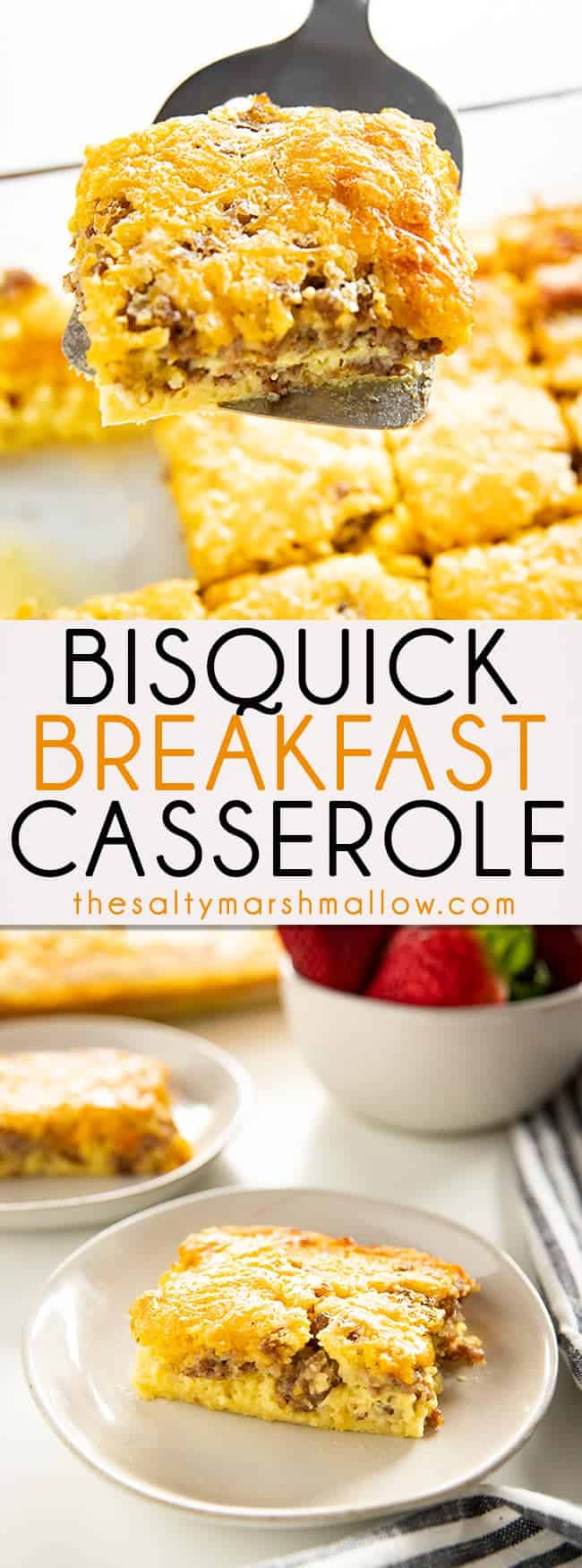 Photo of Bisquick Breakfast Casserole – The Salty Marshmallow