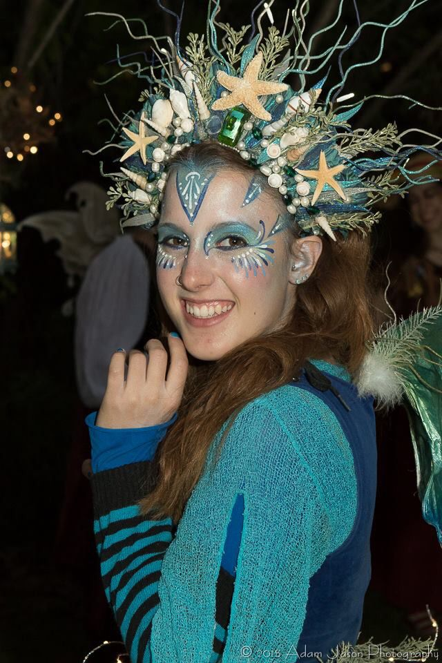 New York Renaissance Faire. Festival headpiece