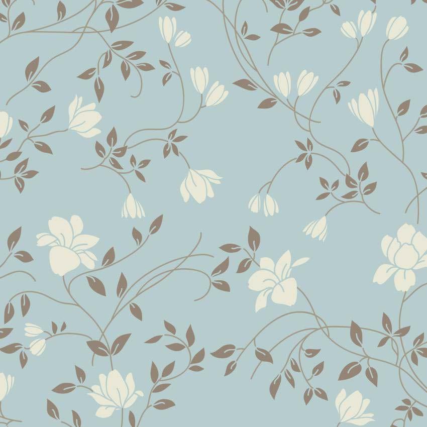 Papel mais parede papel de parede arabesco de flores - Paredes de papel ...