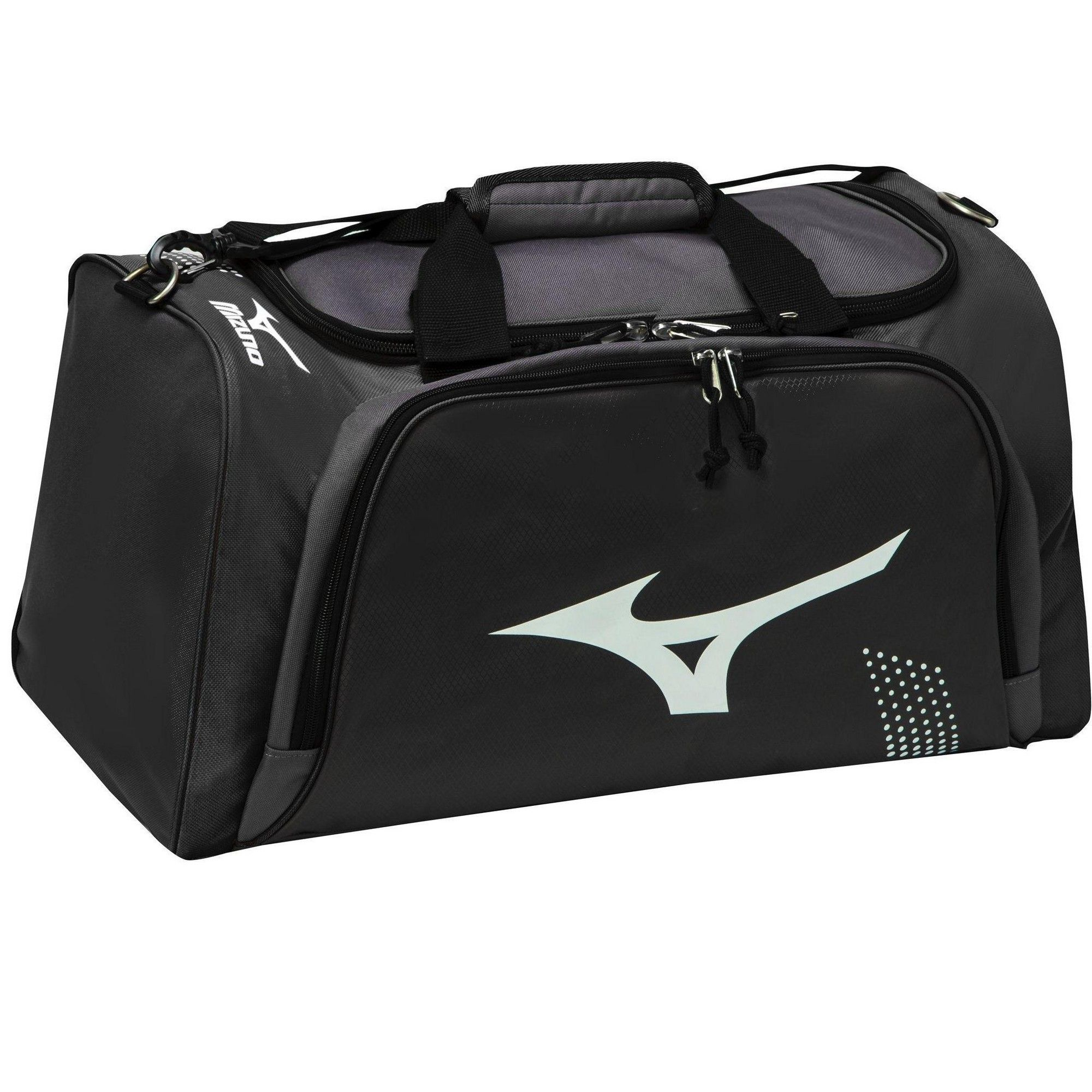 Mizuno Bolt Volleyball Duffle Size No Size In Color Grey Black 9190 Duffle Bag Duffle Bags