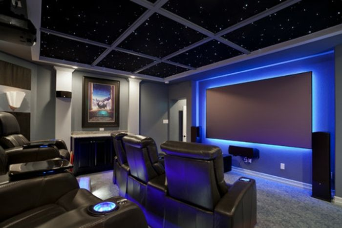 Kino Zimmer Zu Hause Led Sternenhimmel
