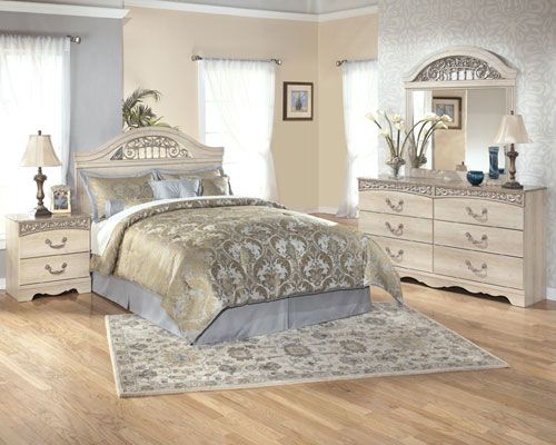 Ashley Furniture Catalina Piece Bedroom Set From Rent Center Pretty Must Have