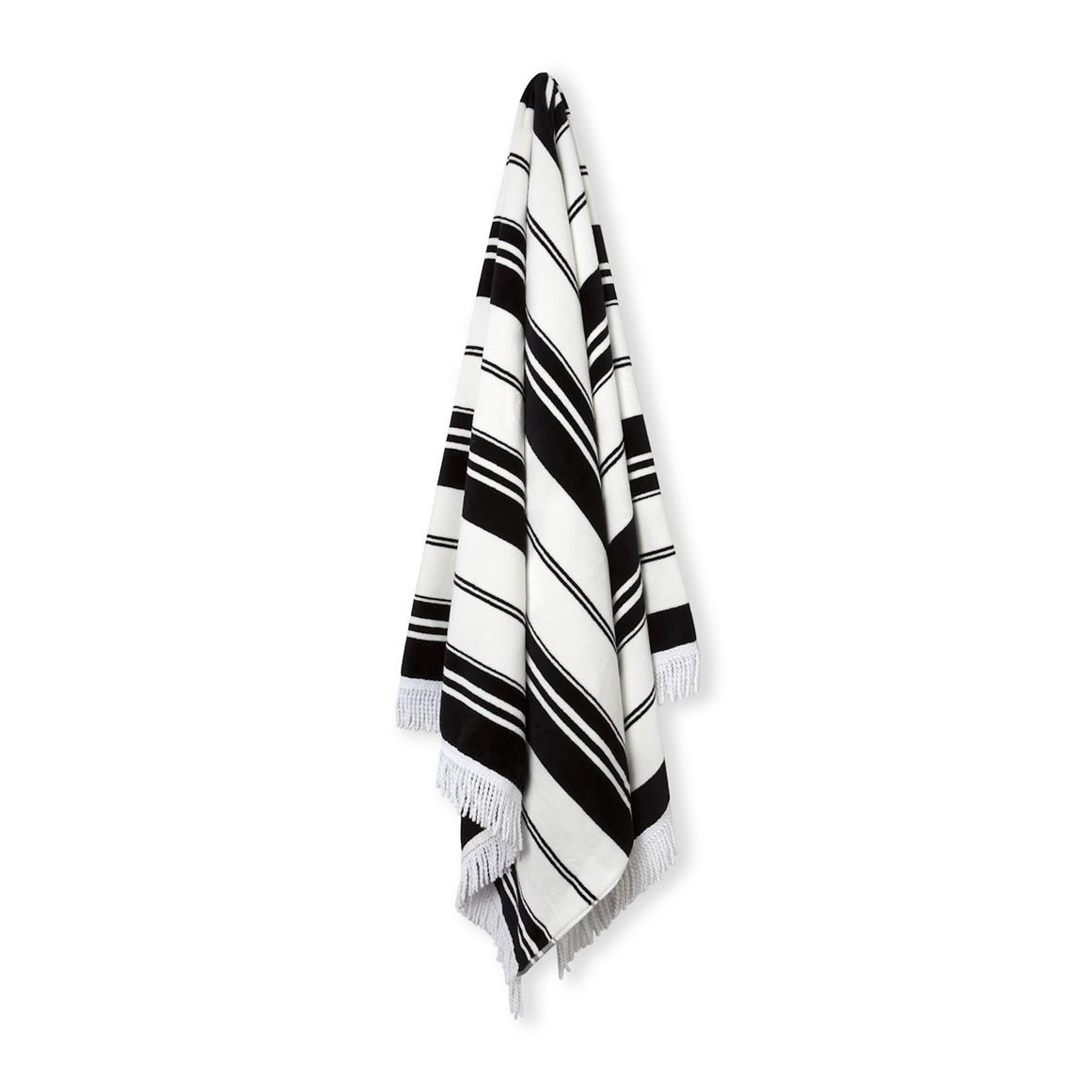 Country Road Beach Towel Blackandwhite Beach Towel Cotton Beach Towel Towel