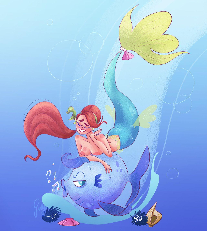 Giully Leão Sketch Blog Cute songs, Music poster design