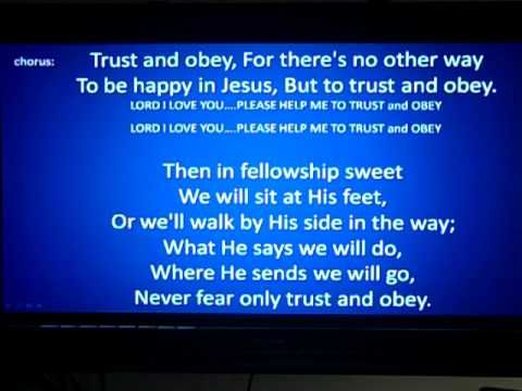 TRUST & OBEY MP4 by Big Daddy Weave | Want/Need | Praise
