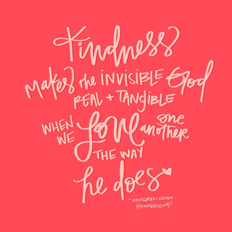 Thoughts On Kindness Just Do Something Jesus Pinterest