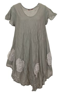 Namastai dresses buy online Rosette Scoop Neck Tunic - Womens Tunics - For everything but the girl