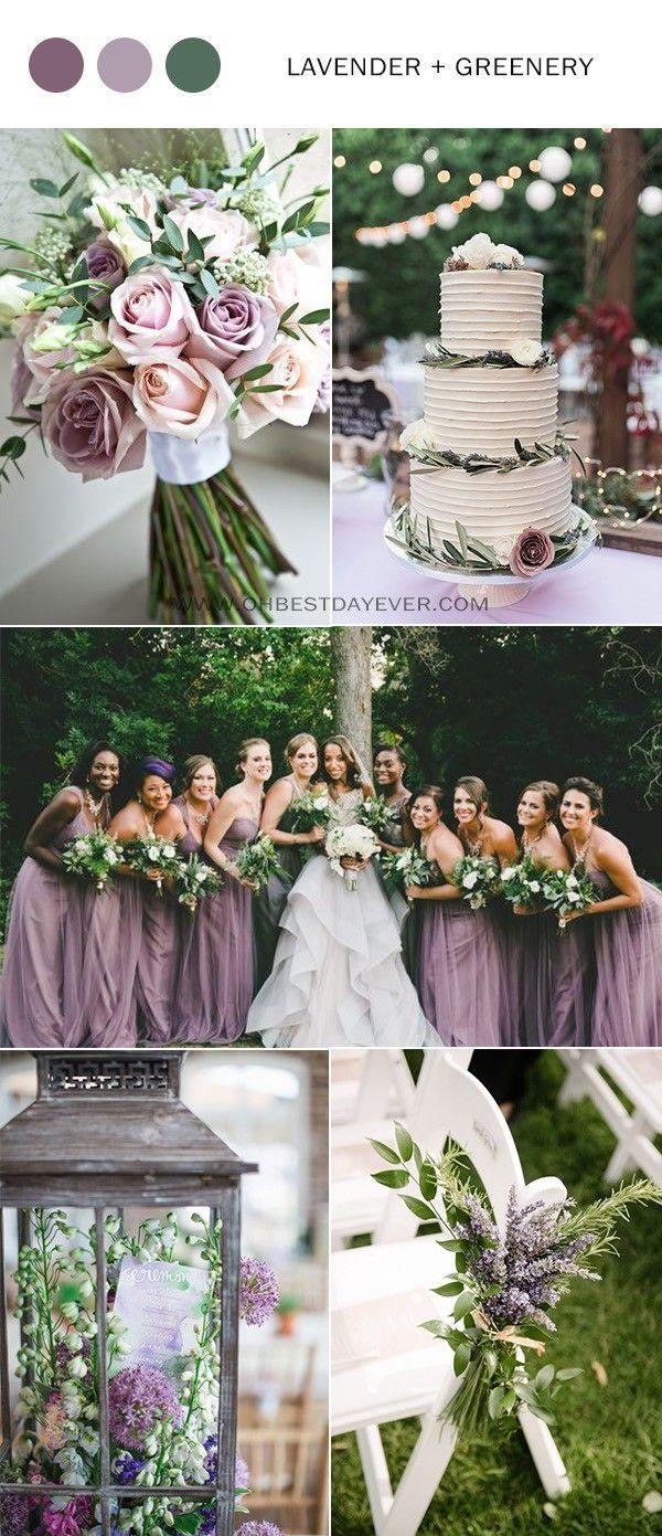 5 Charming Lavender Wedding Color Ideas for Spring/Summer