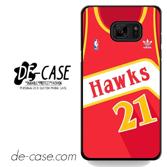 Hawks Basketball Jersey DEAL-5192 Samsung Phonecase Cover For Samsung Galaxy Note 7