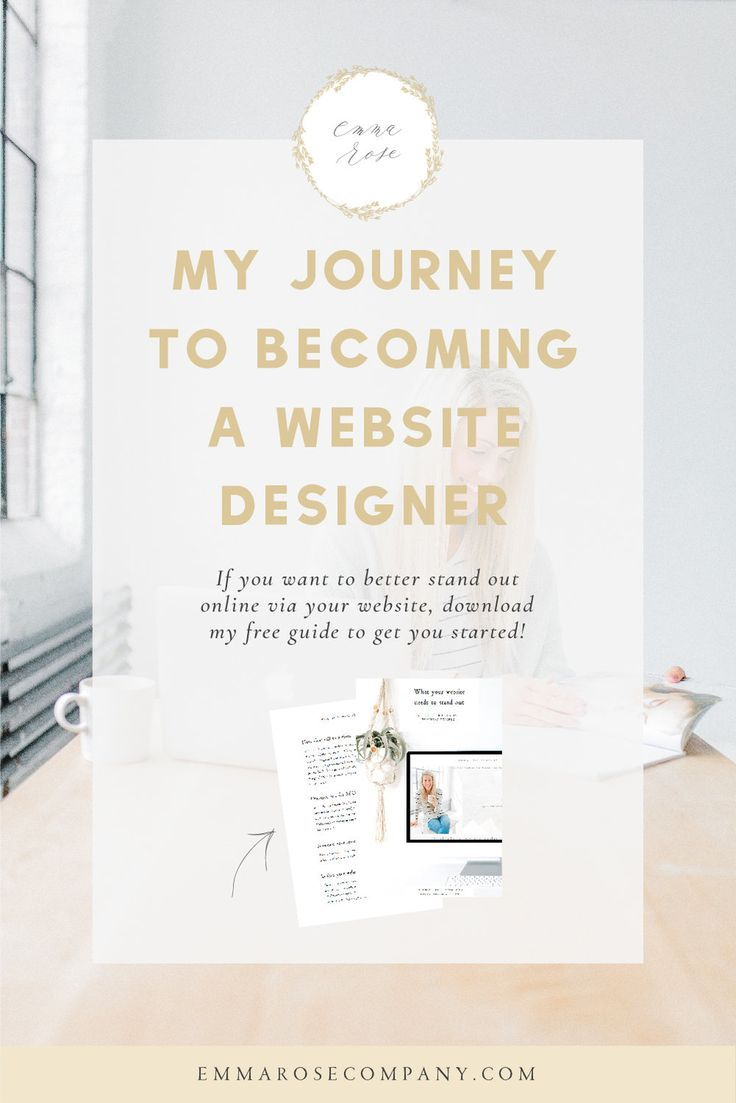 Photo of My Journey to Becoming a Website Designer