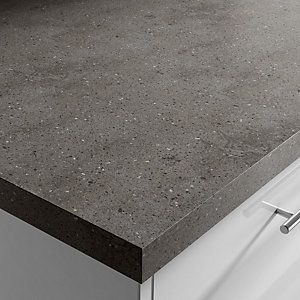 Lava Rock Corian Worktop Grey