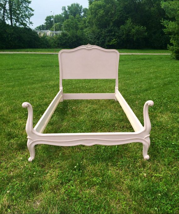 drexel bedroom furniture 1950s french provincial twin bed princess decor shabby chic girls pink headboard cherry 1980s