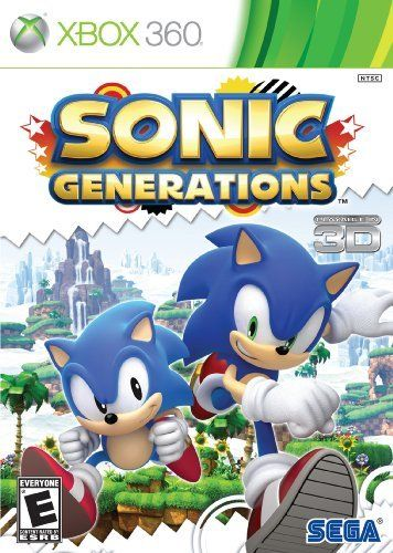 Sonic Generations By Sega Of America Inc Http Www Amazon Com Dp B004x56ou8 Ref Cm Sw R Pi Dp Swq4pb0mgzr6v Sonic Generations Generation Game Sonic