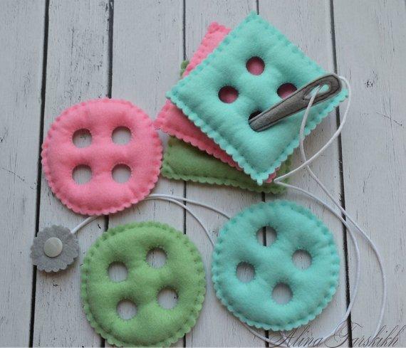 DIY montessori felt - Buscar con Google | Montessori baby ...