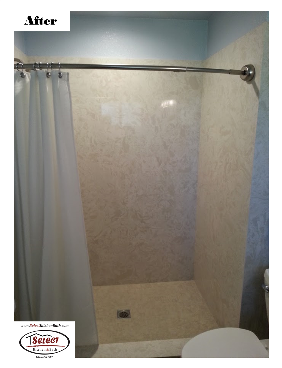 Bathroom Remodel - Before & After Installed by Select Kitchen & Bath ...
