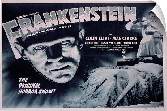 Bk Frankenstein 2 In 2021 Classic Horror Movies Posters Horror Movie Posters Film Posters Vintage