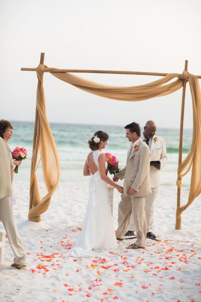 Read More Http Www Stylemepretty 2017 07 18 Grayton Beach Wedding From Ashley Victoria Photography