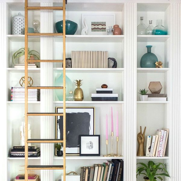 How To Style A Bookshelf Tips And Tricks On Beautiful Shelving Unit Cuckoo4design