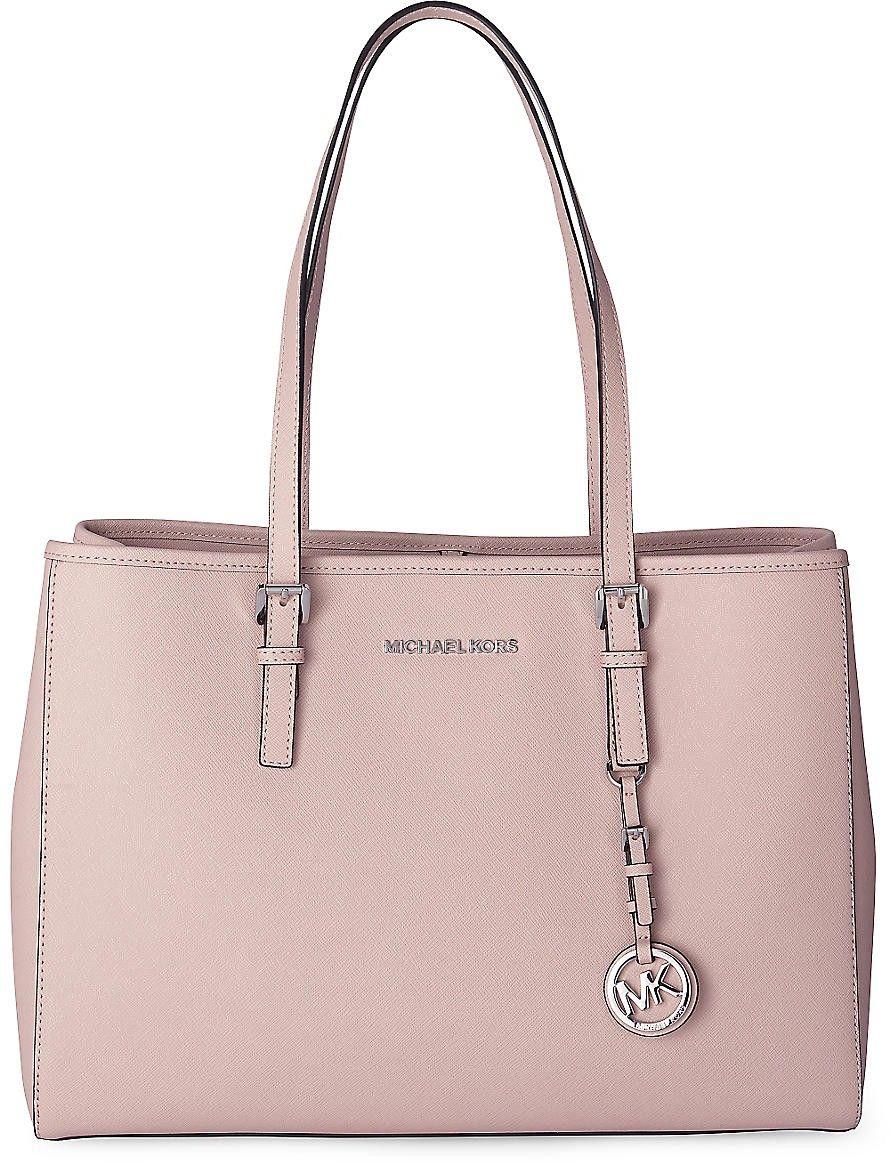 einzigartiges Design modernes Design klar und unverwechselbar Tasche JET SET TRAVEL von Michael Kors in rosa für Damen. Gr ...