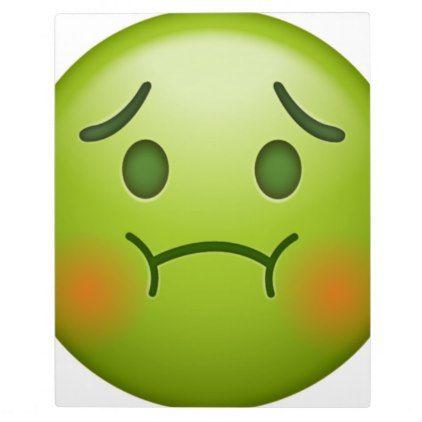 Sick Note Emoji Face Plaque Zazzle Com Emoji Faces Emoji Laughing Emoji