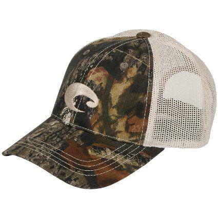 Amazon.com  Mens Costa Del Mar Mesh Hat Camo Stone One Size  Clothing d2d7fd588e68