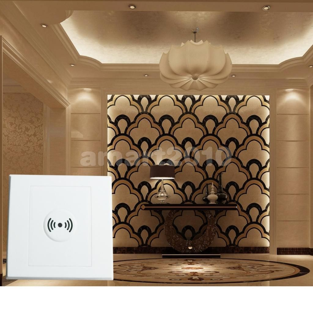 261 Gbp Voice Sound Activated Lamp Light Sensor Switch Automatic Wall Mounted Switches