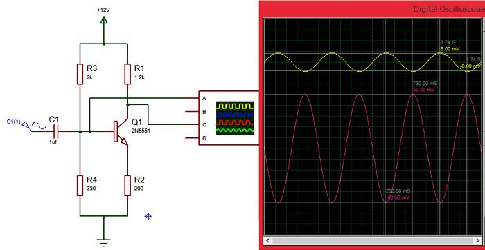 circuit using 2n5551 npn amplifier transistor circuits pinterest rh pinterest com